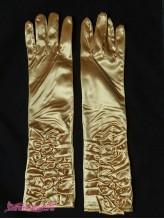 Подростковые перчатки Леди золото