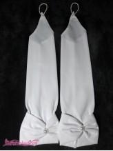 Детские перчатки Миледи белые