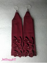 Детские перчатки Модница бордо