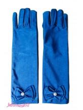 Детские перчатки Натали индиго