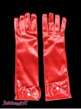 Детские перчатки Натали красные