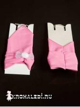 Детские перчатки Пуховка розовые