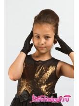 Детские перчатки Стиляга черные