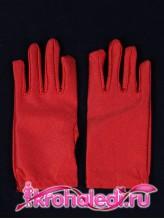 Детские перчатки Стиляга красные