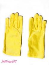 Детские перчатки Стиляга желтые