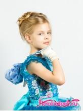 Детская сумочка Бальная голубая