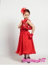 Детская сумочка Кокетка красная