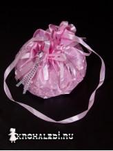 Детская сумочка Золушка розовая