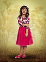 Красивое детское платье на 8 лет